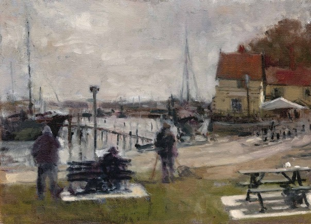Artists at Pin Mill