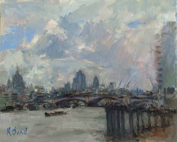 "Blackfriars Bridge, London. 8"" x 10"" (20 x 25 cms)"