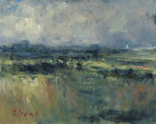 "Distant view of Southwold. 8"" x 10"" (20 x 25 cms)"