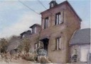 "House at Avesnes en Val 1. 10"" x 14"" (25 x 35 cms)"