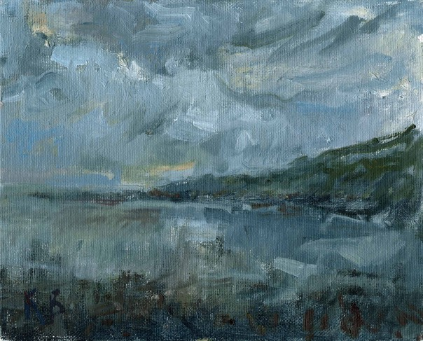 "Coverack Porthbeer Bay 2. 8"" x 10"" (20 x 25 cms)"